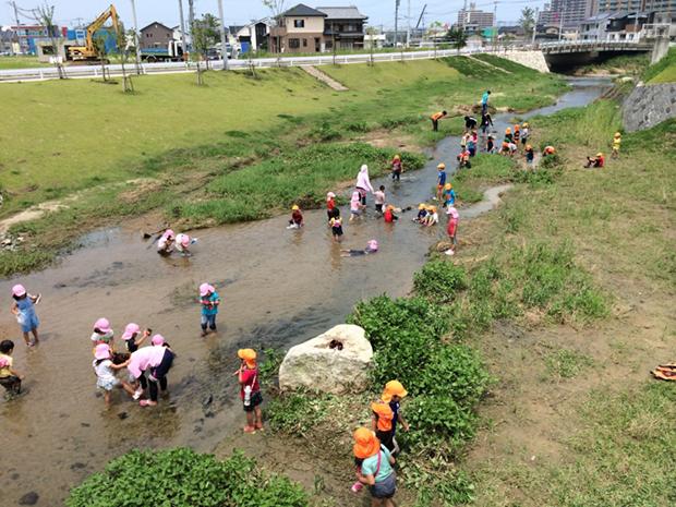 上西郷川 整備後
