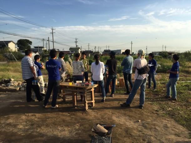 生き物守る農業を実践する宮田さんのお話