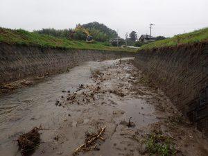 今年実施中の浚渫区間④