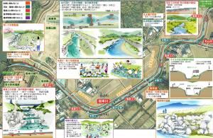 岩本川未来希望図(整備イメージ)