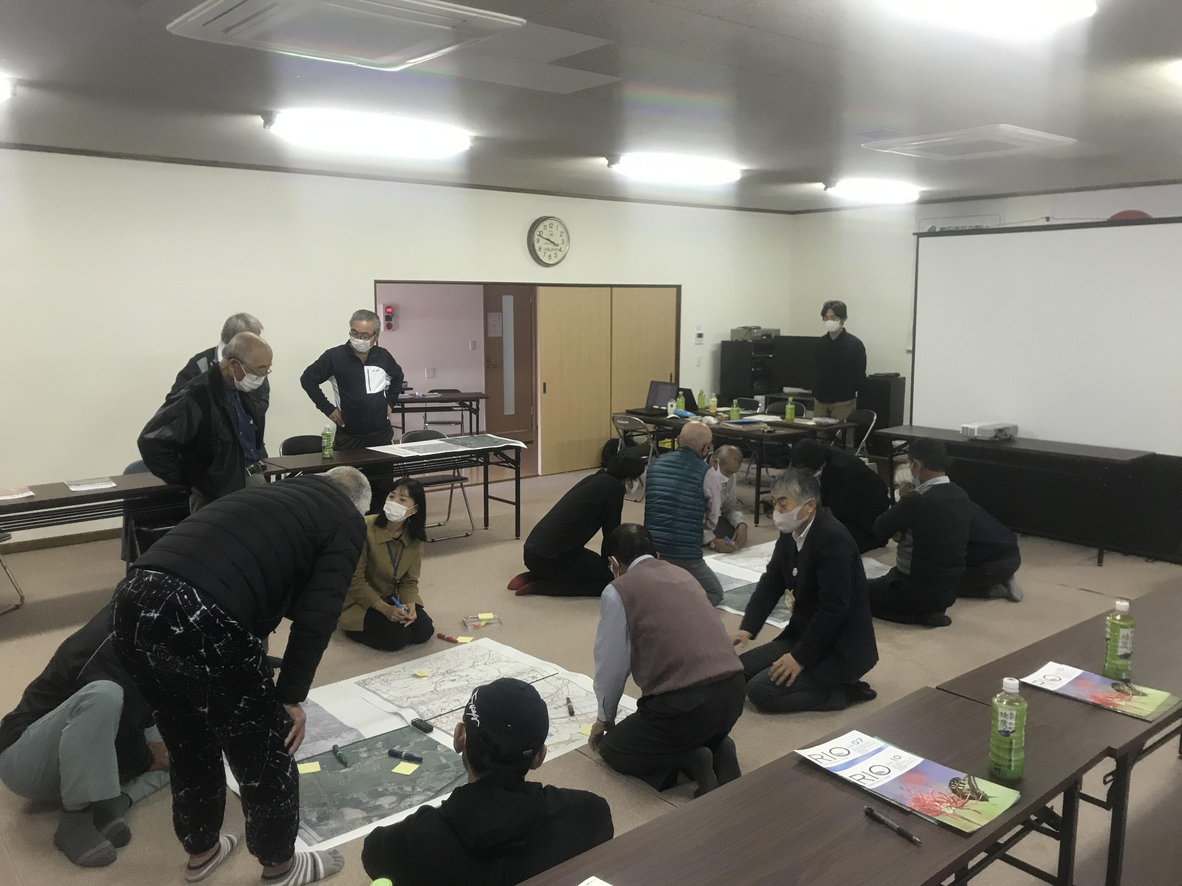 豊田市広沢川「川の思い出を語ろう!」を開催しました