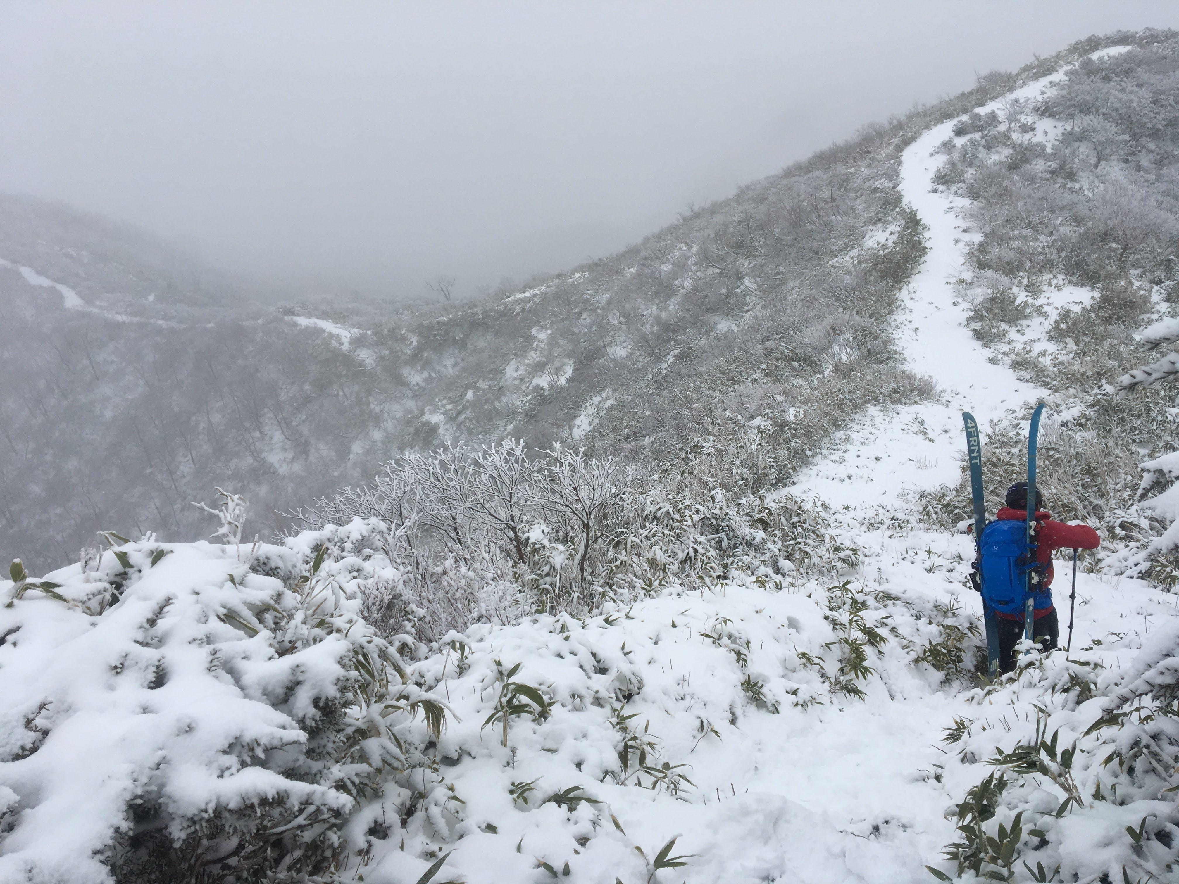 CWP山岳部 大日ヶ岳 BCスキー